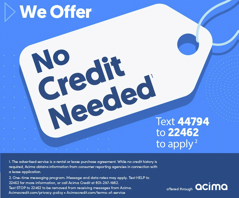 acima credit - test 44794 to 22462 to apply